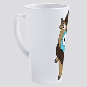 Buffalo Gopher 17 oz Latte Mug